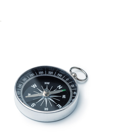 Photo for Classic compass isolated - Royalty Free Image