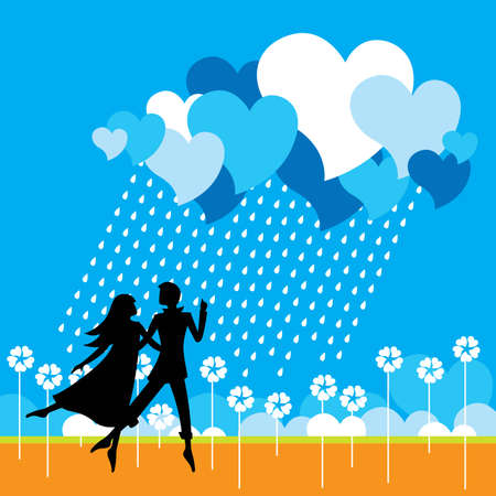 Dancing couple - Vector eps8