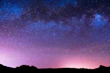 Foto de Night Sky Picture Darkness Planets and Stars - Imagen libre de derechos