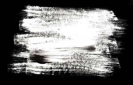 Photo pour brush strokes with space for your own text - image libre de droit