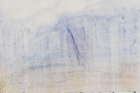 Foto de Watercolor abstract faded background wet paper texture. - Imagen libre de derechos
