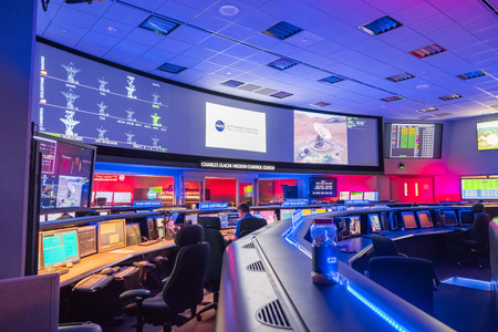 Photo pour June 10, 2018 La Canada Flintridge / CA / USA -  Inside view of the Mission control center at the Jet Propulsion Laboratory (JPL) - image libre de droit