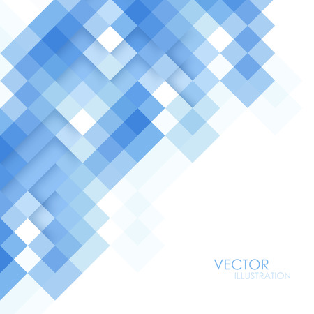 Illustration pour Abstract square blue background - image libre de droit