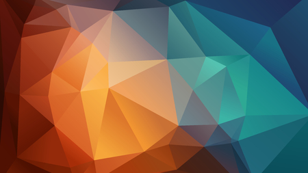 Ilustración de Abstract vector geometric wallpaper consists of triangles - Imagen libre de derechos