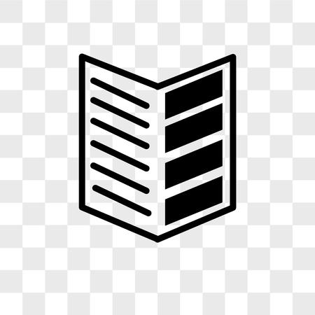 Illustration pour catalogue vector icon isolated on transparent background, catalogue logo concept - image libre de droit