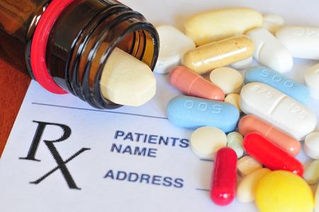 Foto de Prescription pills - Imagen libre de derechos