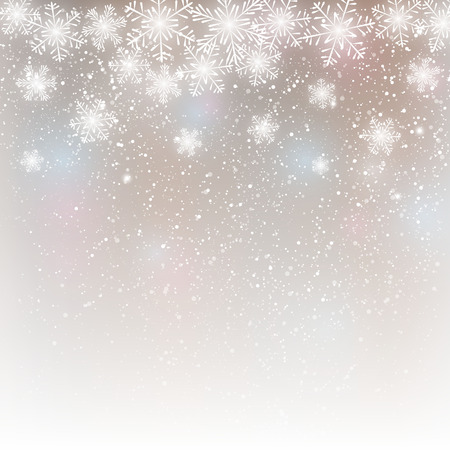 Illustration pour Abstract snowflake background for Your design - image libre de droit