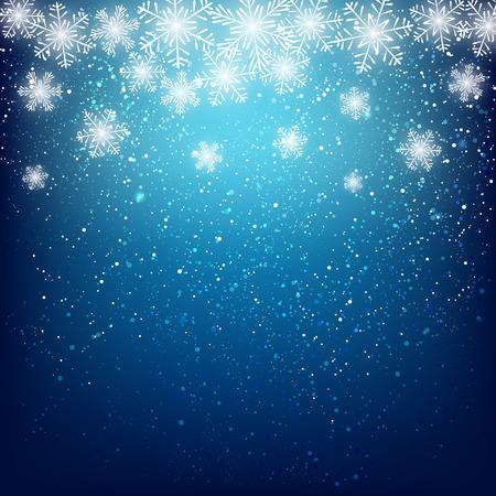 Illustration pour Abstract snowflake background for Your design - image libre de droit