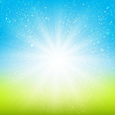 Illustration pour Shiny light background for Your design - image libre de droit