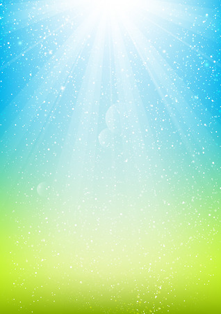 Illustration pour Shiny light background for Your design - image libre de droit