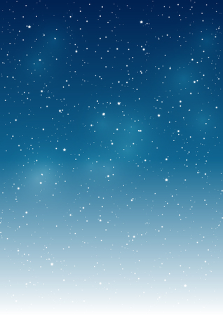 Illustrazione per Starry sky background for Your design - Immagini Royalty Free