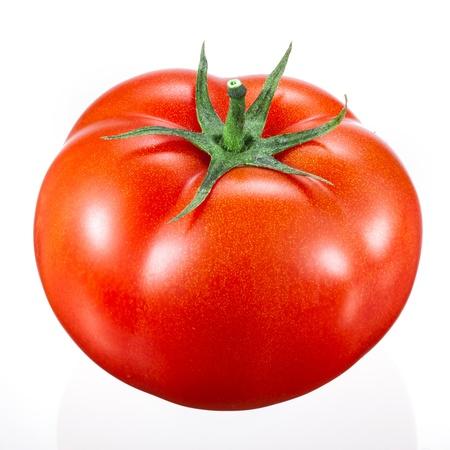 Photo pour tomato on white - image libre de droit