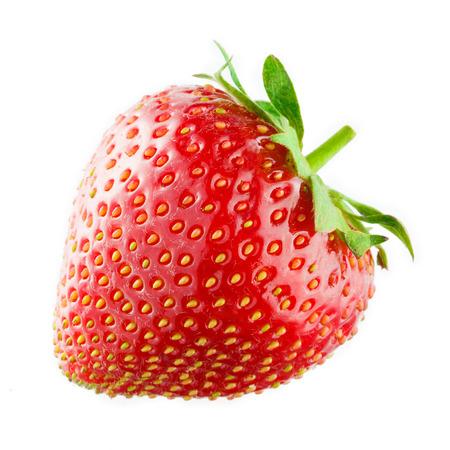 Foto de Strawberry isolated on white  - Imagen libre de derechos