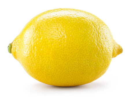 Photo pour Lemon isolated on white background. With clipping path - image libre de droit