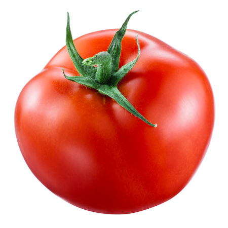 Photo pour Tomato isolated on white. With clipping path - image libre de droit