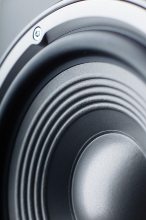 Photo for Acoustic column. Musical speaker. Macro. - Royalty Free Image