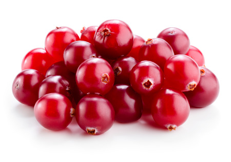Photo for Cranberry isolated on white. - Royalty Free Image