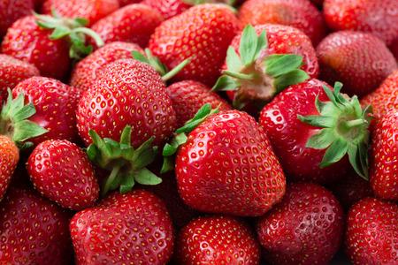 Foto de Strawberries. Background. - Imagen libre de derechos