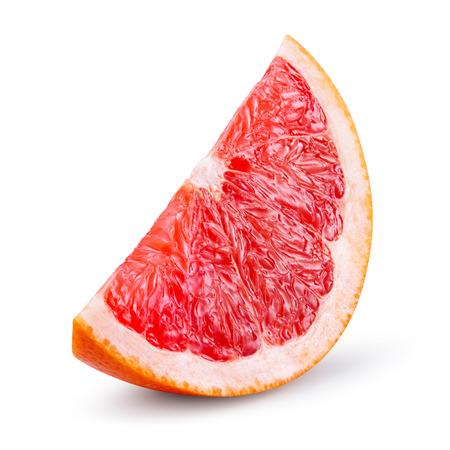 Photo pour Grapefruit isolated on white b - image libre de droit
