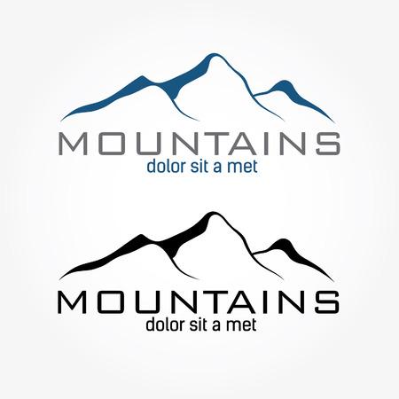 Illustration pour mountains abstract illustration - image libre de droit