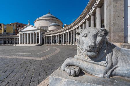 Foto de Naples (Campania, Italy) - The historic center of the biggest city of south Italy. - Imagen libre de derechos