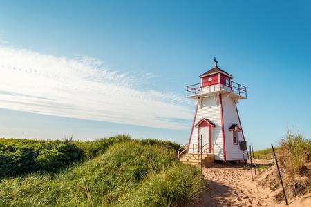 Foto de Covehead Lighthouse in Stanhope (Prince Edward Island, Canada) - Imagen libre de derechos