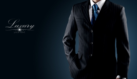 Photo for businessman in a luxury suit  - Royalty Free Image