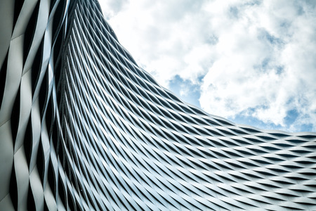 Foto per Modern urban architecture. Abstract background - Immagine Royalty Free