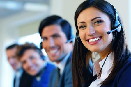 Foto de Call center operators - Imagen libre de derechos