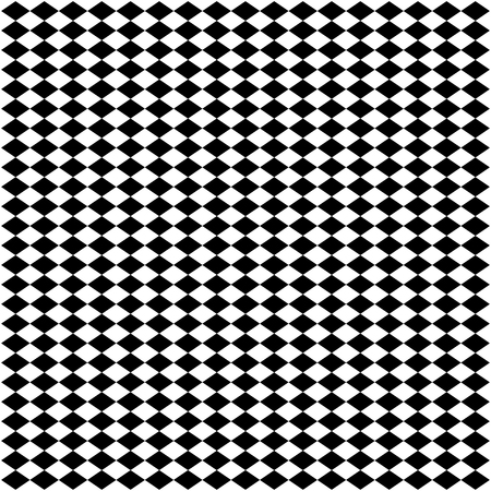 Illustration for Abstract geometric seamless pattern. Black and white style. Vector illustration. - Royalty Free Image