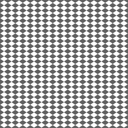 Illustration for Abstract geometric seamless pattern. Gray and white style. Vector illustration. - Royalty Free Image