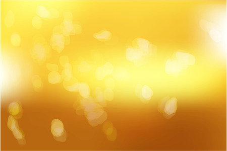 Ilustración de Yellow gold with abstract blurred light. Golden light background. Vector illustration - Imagen libre de derechos