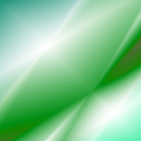 Illustration for Blurry green and white gradient abstract vector illustration - Royalty Free Image
