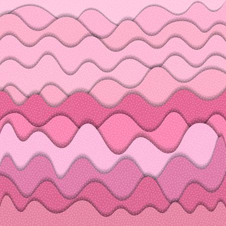 Ilustración de Pink abstract water wavy pattern. Vector illustration - Imagen libre de derechos