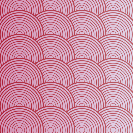 Illustration pour Pink abstract circle seamless pattern. Vector illustration - image libre de droit