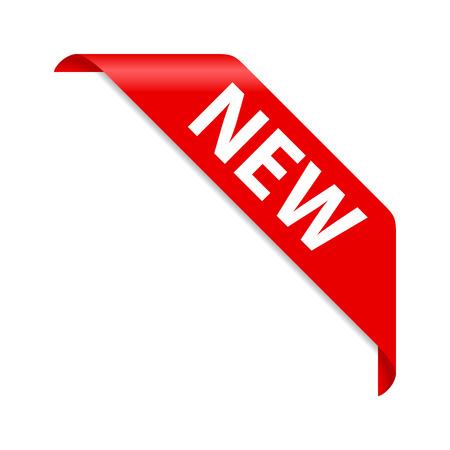 Illustration pour New badge - image libre de droit