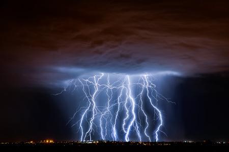 Foto de Tucson Lightning - Imagen libre de derechos
