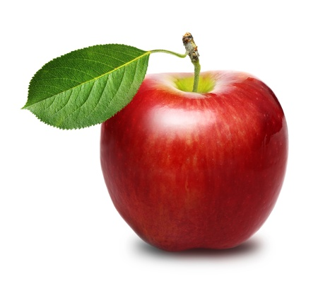 Photo for Red apple isolated - Royalty Free Image