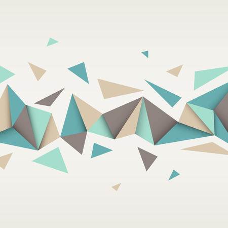 Ilustración de Vector background. Illustration of abstract texture with triangles. Pattern design for banner, poster, flyer. - Imagen libre de derechos