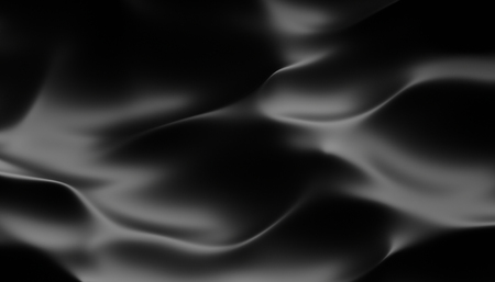 Photo for Abstract 3d rendering of smooth surface with ripples, cloth with waves, modern background design for poster, cover, branding, banner, placard - Royalty Free Image