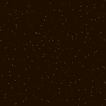 Illustration pour Starry night sky. Stars, sky, night. Vector background. - image libre de droit
