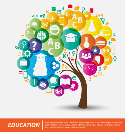 Photo pour Education concept vector Illustration - image libre de droit