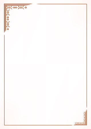 Illustration pour Vector vintage border frame - image libre de droit