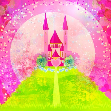 Magic Fairy Tale Princess Castle  mural