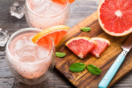 Photo for Grapefruit cocktail - Royalty Free Image
