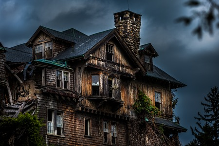 Photo for Abandoned school for girls - Royalty Free Image