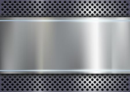 Illustration pour metal background - image libre de droit