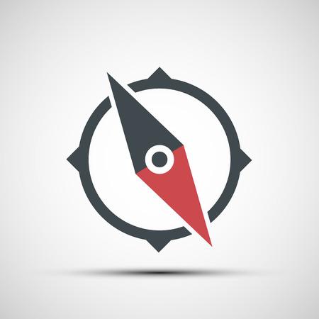 Ilustración de Vector compass icon - Imagen libre de derechos
