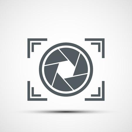 Illustration pour Vector icon camera - image libre de droit