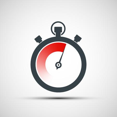 Illustration pour sports stopwatch. Vector image. - image libre de droit